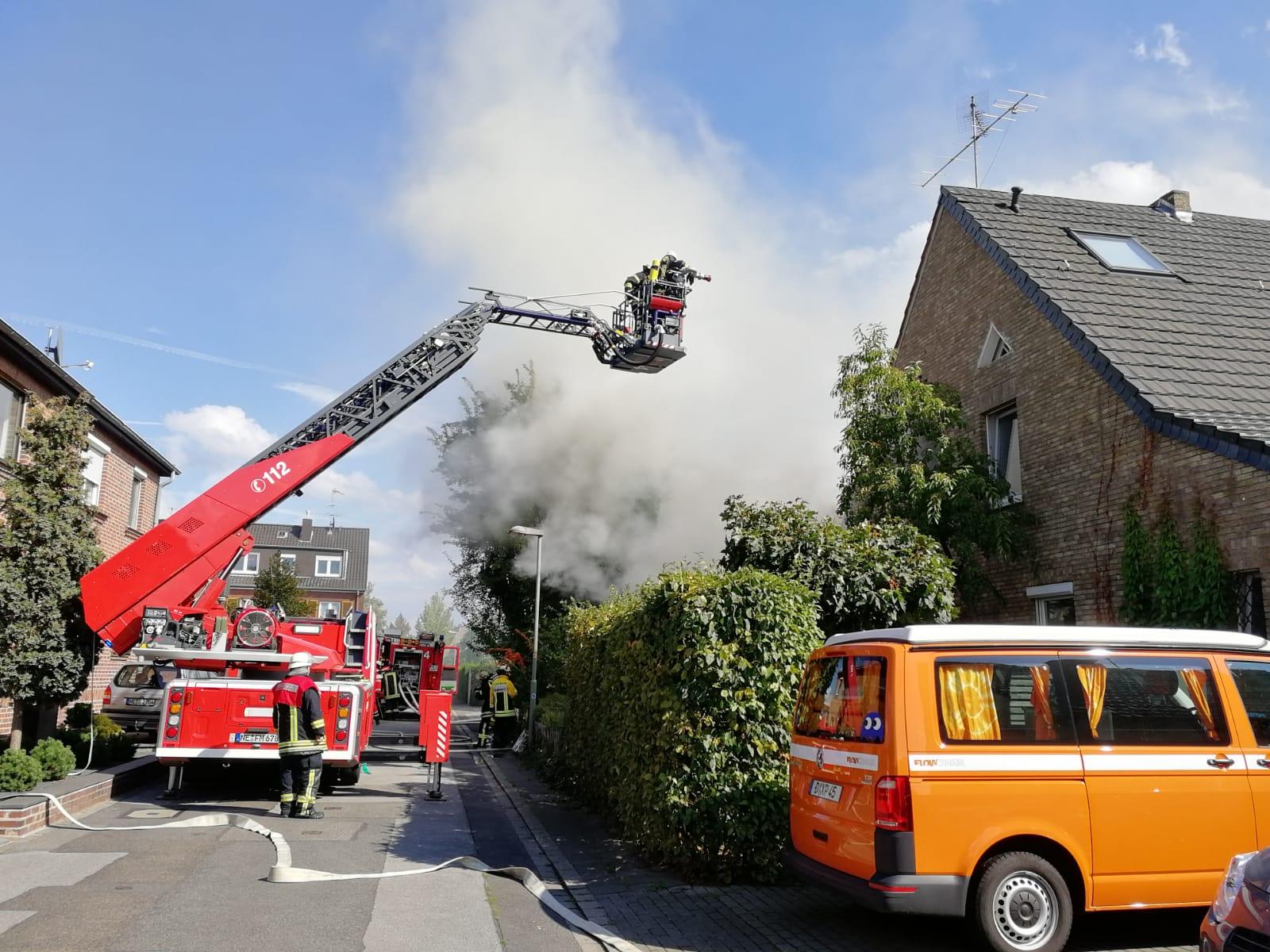 Wohnungsbrand in Büderich (07.09.18)
